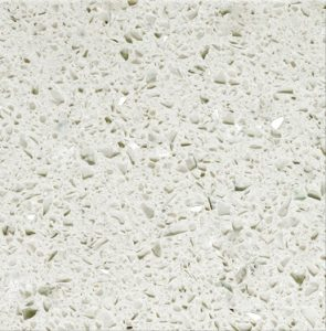 ProQuartz Quartz - Shimmer. Elegant yet inviting, with a pale hue and a moderate natural grain.
