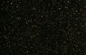 Rudi's Choice Granite - Star Galaxy. This granite is beautifully named and perfectly describes its patterning and character. With a stark black background, the multitude of bronze and gold grains make Star Galaxy look like a star gazing vista from Sutherland, but better! There is something magical about this material as the multitude of gold and bronze flakes constantly sparkle under most lighting conditions. This dazzling granite material deserves pride of place and should be showcased accordingly.